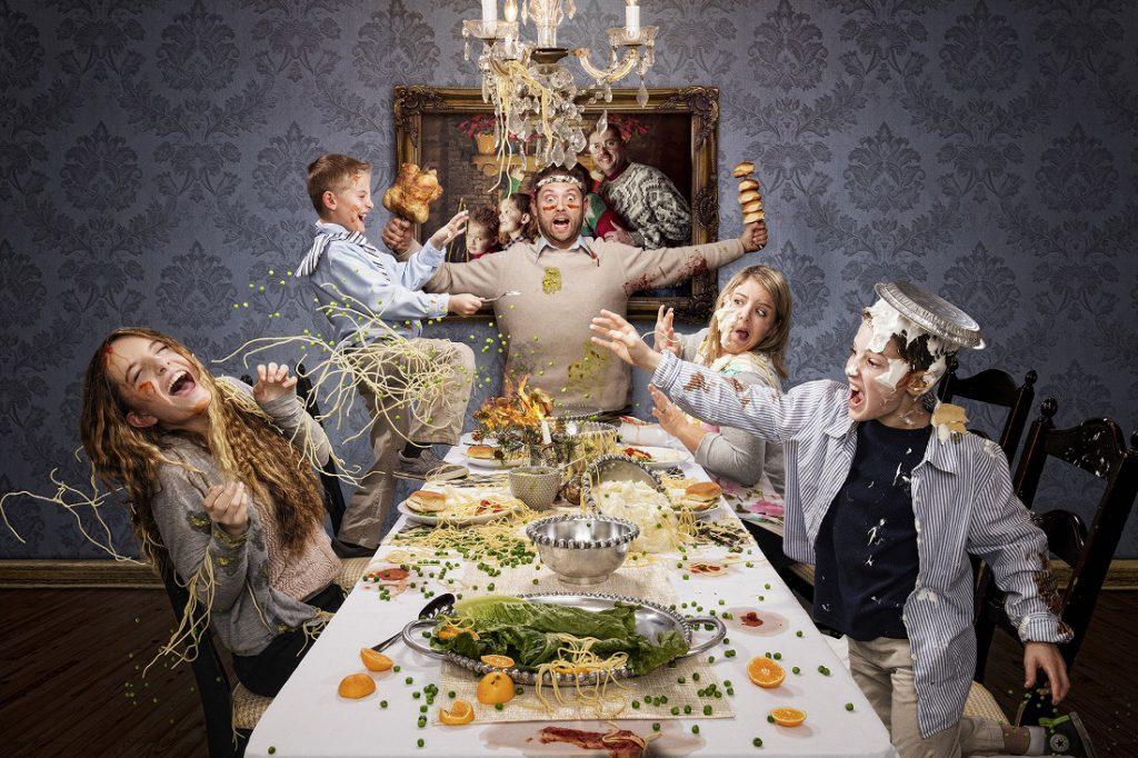 festive family dynamics